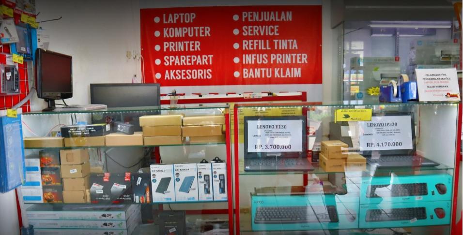 Jual Laptop dan Komputer Pondok Ungu Permai