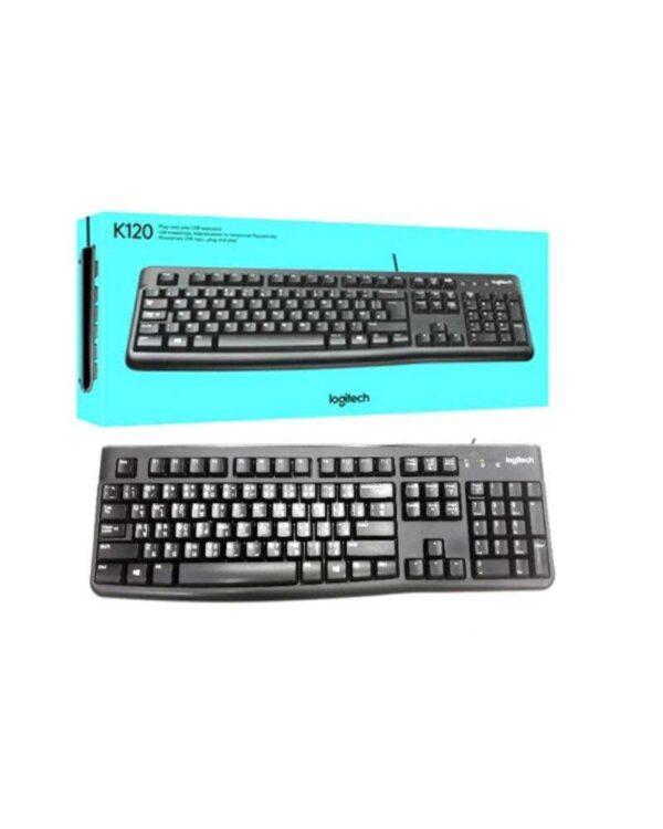 Keyboard-USB-Logitech-K120