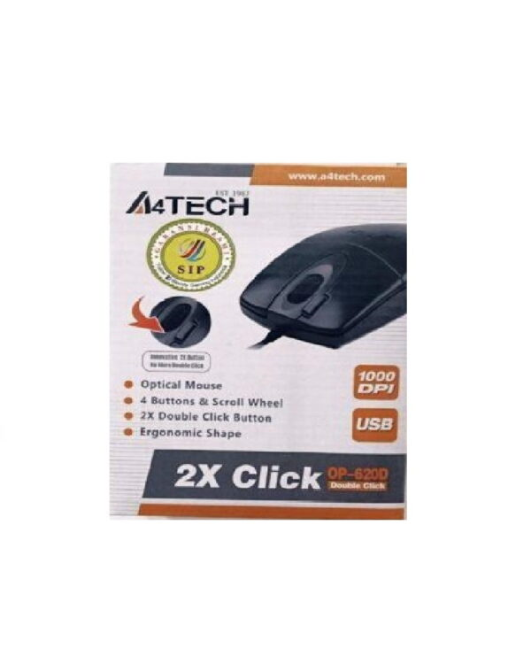 Mouse USB A4Tech OP-620D V-Track