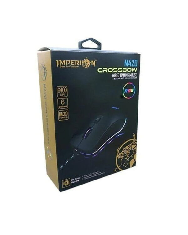 Mouse gaming Imperion M420