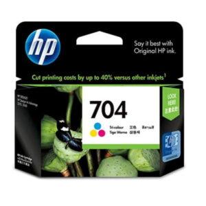 Tinta Hp 704 Colour